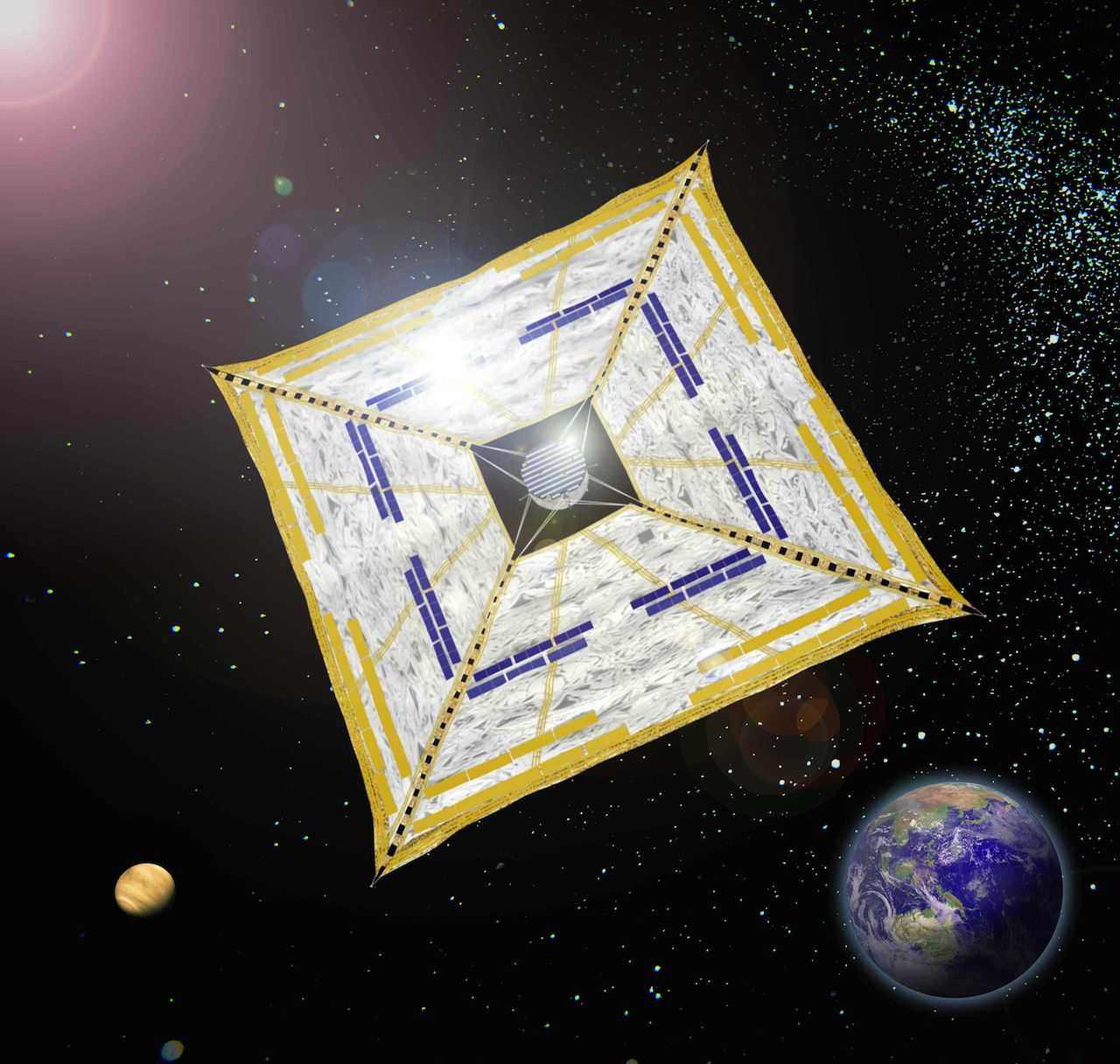 IKAROS Spacecraft (Courtesy of JAXA)