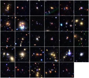 Gravitational Lens Candidates
