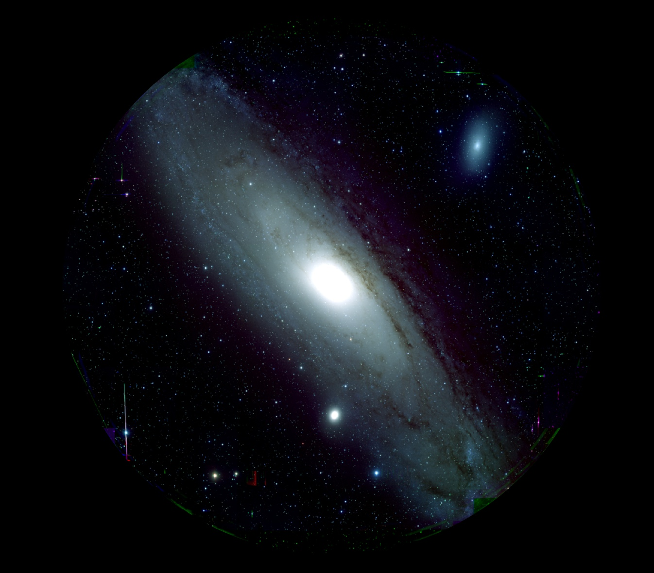 Figure 1: M 31 captured by Hyper Suprime-Cam (HSC) (Credit: HSC Project/NAOJ)