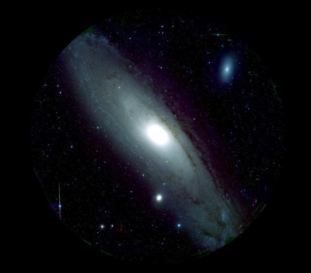 Figure 1: M 31 captured by Hyper Suprime-Cam (HSC) (Credit: HSC Project/NAOJ)