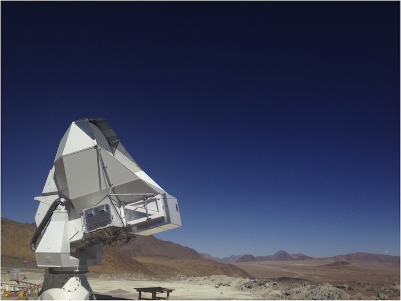 Huan Tran Telescope dedicated to POLARBEAR