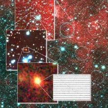 Subaru telescope takes snapshot of fast radio burst host galaxy