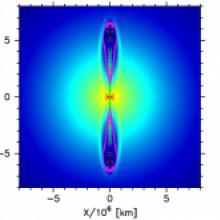 第二世代星に観測された大量の亜鉛は、初代星のジェットを吹き出す激しい爆発の産物