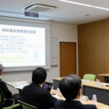 萩生田光一文部科学大臣が Kavli IPMU を視察