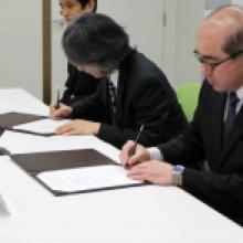 MOU between Kavli Institute for the Physics and Mathematics of the Universe and The Institute of Statistical Mathematics broadens research collaboration