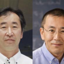 Takaaki Kajita and Hirosi Ooguri receive Chunichi Cultural Award