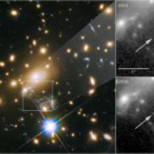 これまでで最も遠方の単独の星の観測