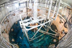 XMASS: Experimental setup of the XMASS at the Kamioka Observatory (credit: Kamioka Observatory, ICRR (Institute for Cosmic Ray Research), The University of Tokyo).
